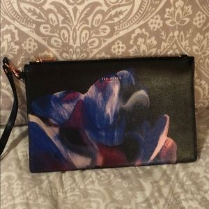 Beautiful Ted Baker Large wristlet